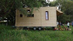 Paludikultur-Tiny House (c) N. Körner